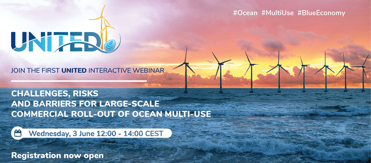 Learn about challenges, risks and barriers for the large-scale commercial roll-out of ocean multi-use